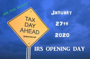 IRS opening date 2020